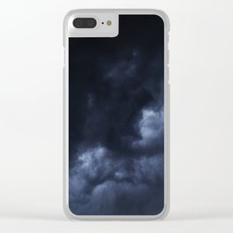 Evening Thunderstorms Clear iPhone Case