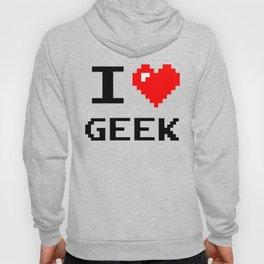 I Love Geek, Hoody