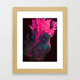Heart and soul Framed Art Print