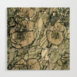Garnet Crystals Wood Wall Art