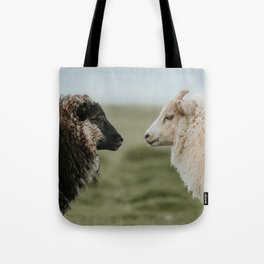 Sheeply in Love - Animal Photography from Iceland Tote Bag