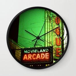 Movieland Arcade, Vancouver Wall Clock