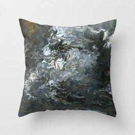 Rustic Fluidity Throw Pillow
