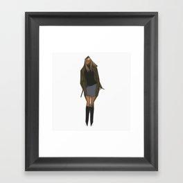 Gwen Stacy Framed Art Print