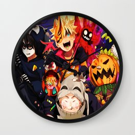 halloween boruto Wall Clock