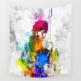 The Boss Bruce S. Grunge Wall Tapestry