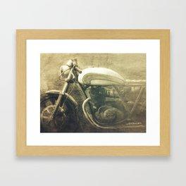 Vintage Motorcycle Gems IV Framed Art Print