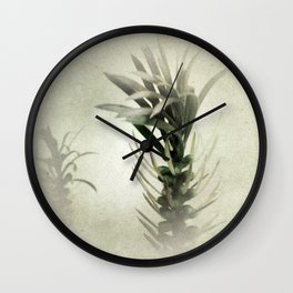 Australian Native Bottlebrush Wall Clock
