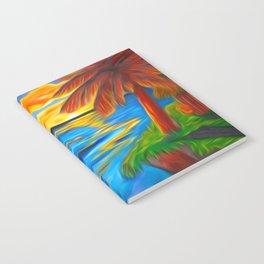 Palm Island Sunrise Notebook