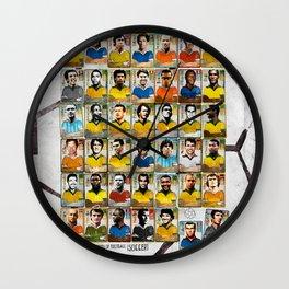 Legends of Football (Soccer). Wall Clock