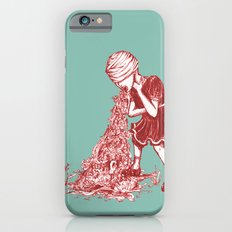 Floral Vomit Slim Case iPhone 6s