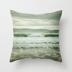 Rolling in (color) Throw Pillow