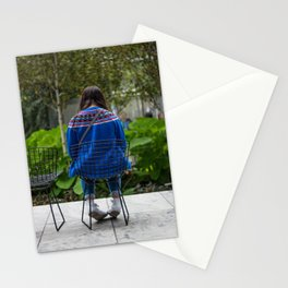 Little Girl Blue Stationery Cards