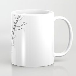 Magpie in the trees Coffee Mug