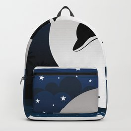 The jumping dolphin Backpack
