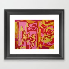 PARTY Framed Art Print