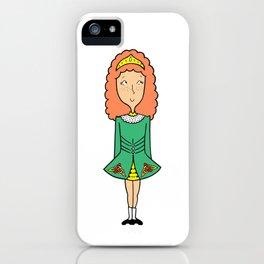 Irish Dancer iPhone Case