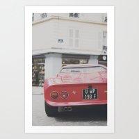 ferrari Art Prints featuring ferrari by remo