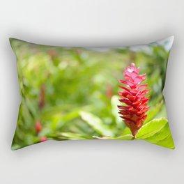 Hawaiian Red Ginger Rectangular Pillow