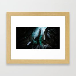 Chasm Framed Art Print