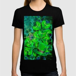 clover and kaleidoscope T-shirt