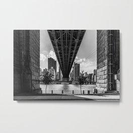 Queensboro Bridge Metal Print