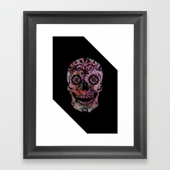 Rachel's Skull Framed Art Print