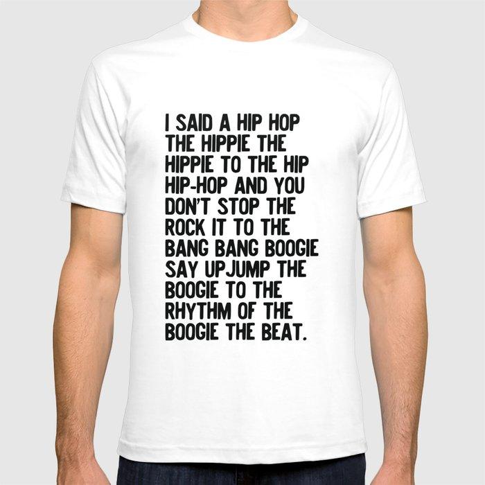 RAPPERS DELIGHT Hip Hop CLASSIC MUSIC T-Shirt