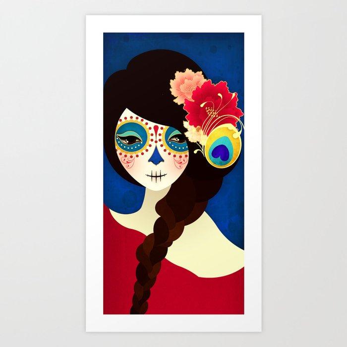 Muertita ~ Candy Art Print