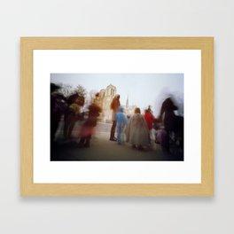 Our Lady + Kids Framed Art Print