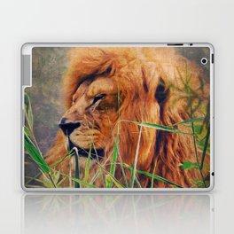 A  Lion portrait Laptop & iPad Skin