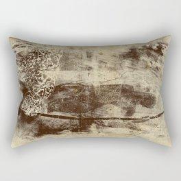 paleo warrior Rectangular Pillow