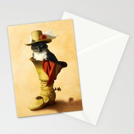 Little Puss in Boots Stationery Cards