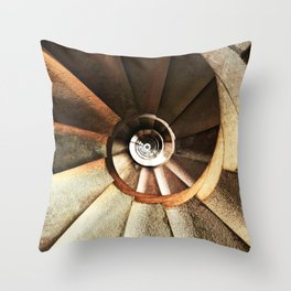 Spiral 37 Throw Pillow