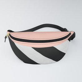 PARALLEL_LINES_PINK_PASTEL Fanny Pack