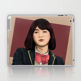 BTS SUGA FEMALE FANART Laptop & iPad Skin