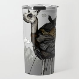 The Capture of the Feather King Travel Mug