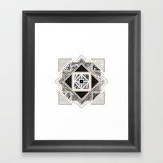 Granite Framed Art Print