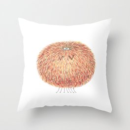 Poofy Marcel Cozyreff Throw Pillow