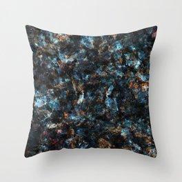 Marble mash 2 Throw Pillow