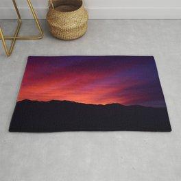 SW Mountain Sunrise - 5 Rug