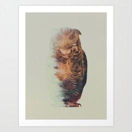 Norwegian Woods: The Owl Art Print