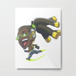 Lucio cute spray Metal Print