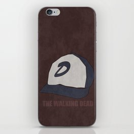 The Walking Dead game: Clementine's hat iPhone Skin