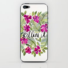 Killin' It – Tropical Pink iPhone & iPod Skin