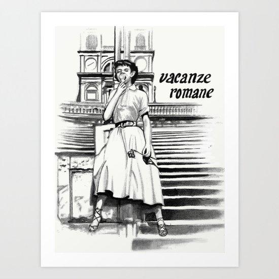Vacanze Romane Art Print