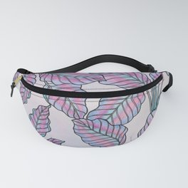 Colorful Caladiums Fanny Pack