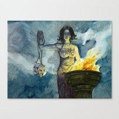 Theatre (Melpomene/Thalia) Canvas Print