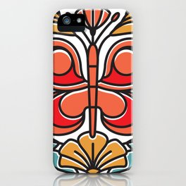 Butterfly tile iPhone Case