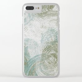 pattern 74 Clear iPhone Case